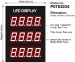 LED Display Module 2.3 , 4Digit, 3Row - P0703034