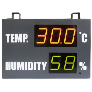 Temperature & Humidity LED Display - PC11023